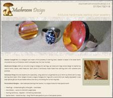 Mushroom Design Jewellery